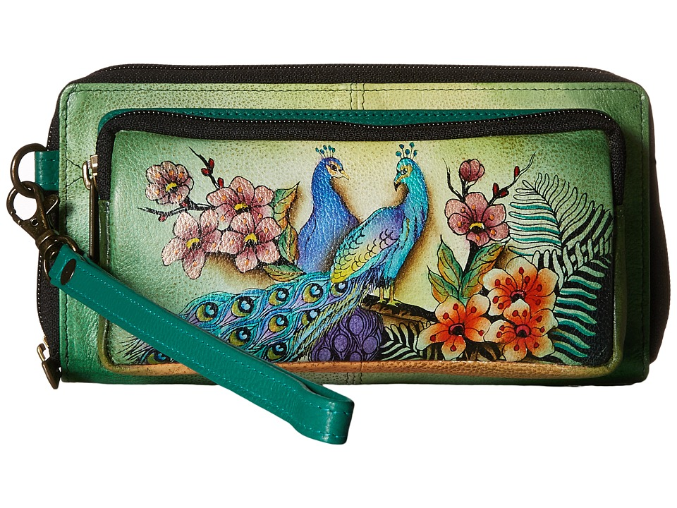 Anuschka Handbags - 1111 (Passionate Peacocks) Handbags