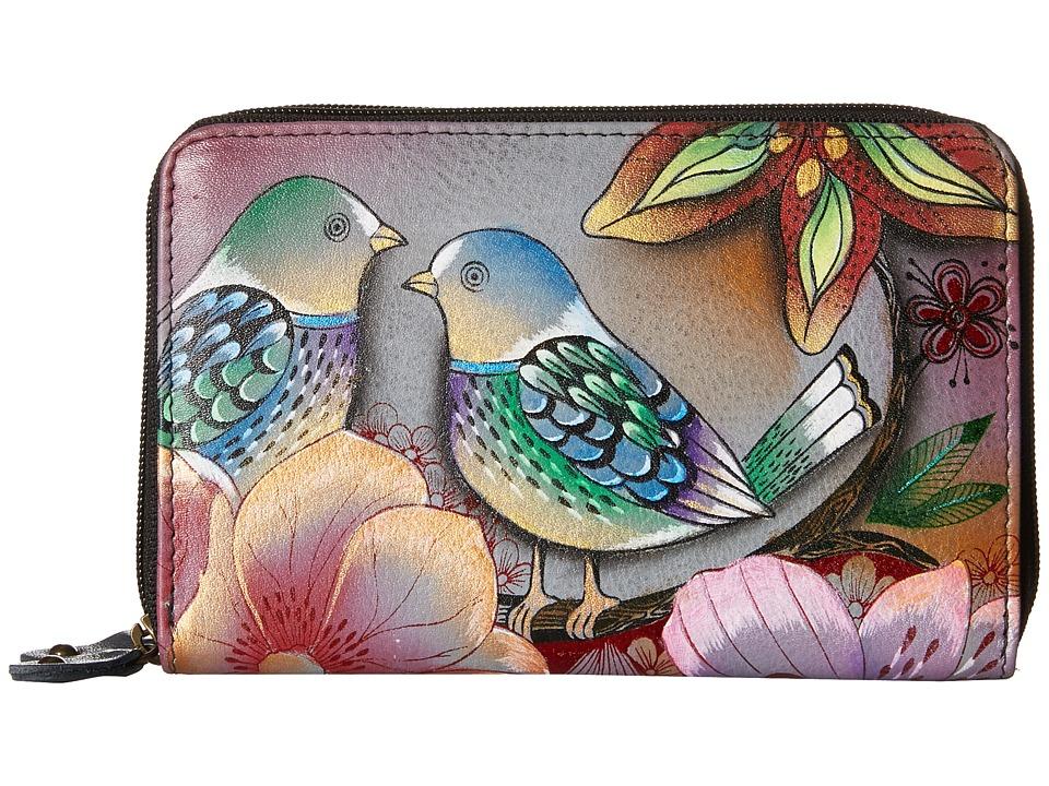 Anuschka Handbags - 1125 Twin Zip Organizer Wallet