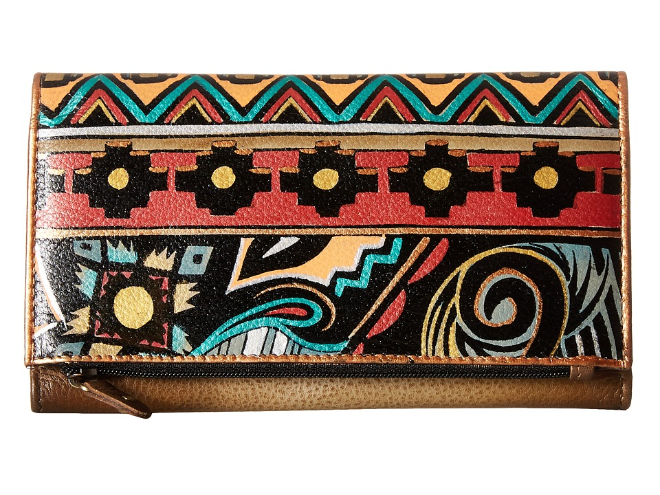 Anuschka Handbags - 1136 (Antique Aztec) Handbags