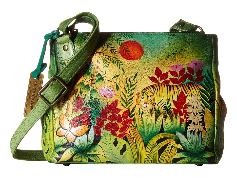 Anuschka Handbags - 525 (Rousseau s Jungle) Cross Body Handbags