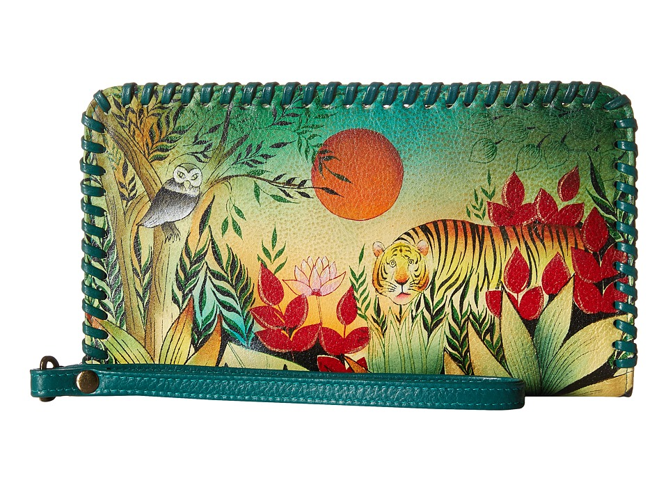 Anuschka Handbags - 1134 (Rousseau s Jungle) Handbags