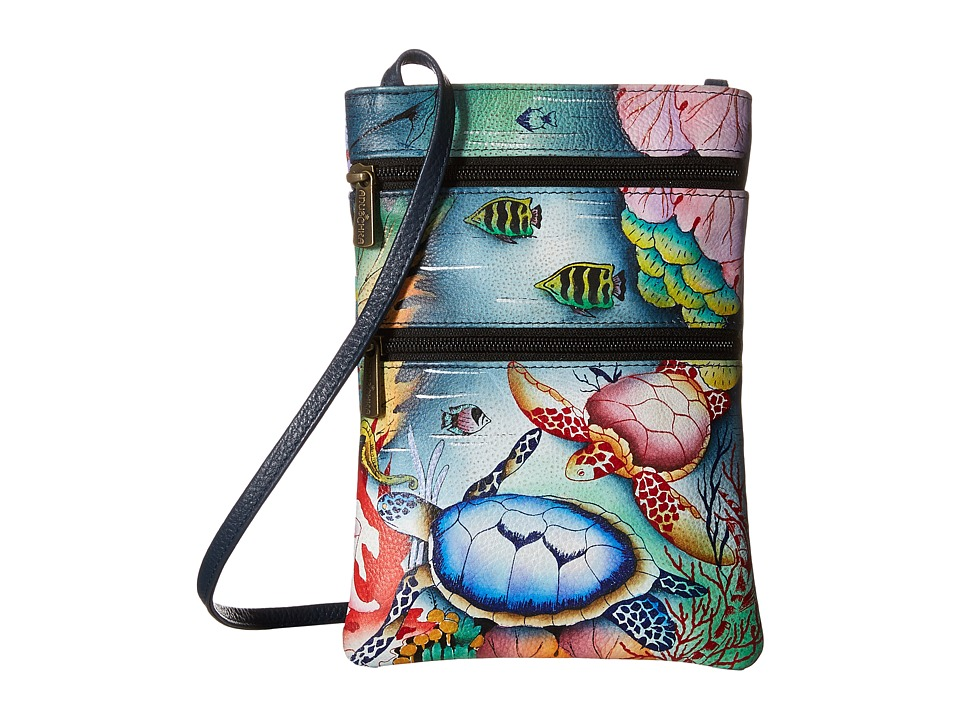 Anuschka Handbags - 448 (Ocean Treasures) Cross Body Handbags