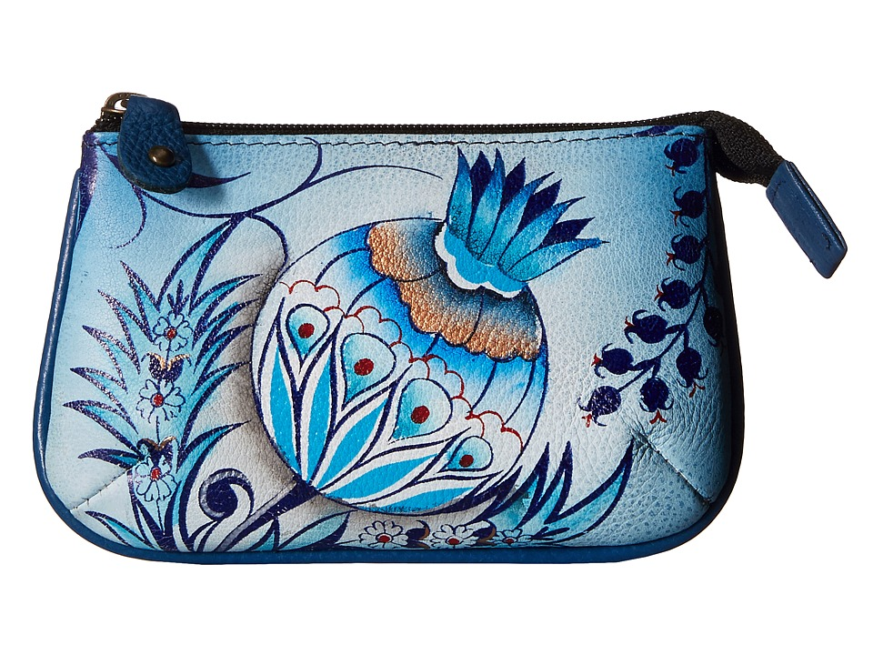Anuschka Handbags 1107 Bewitching Blues Coin Purse