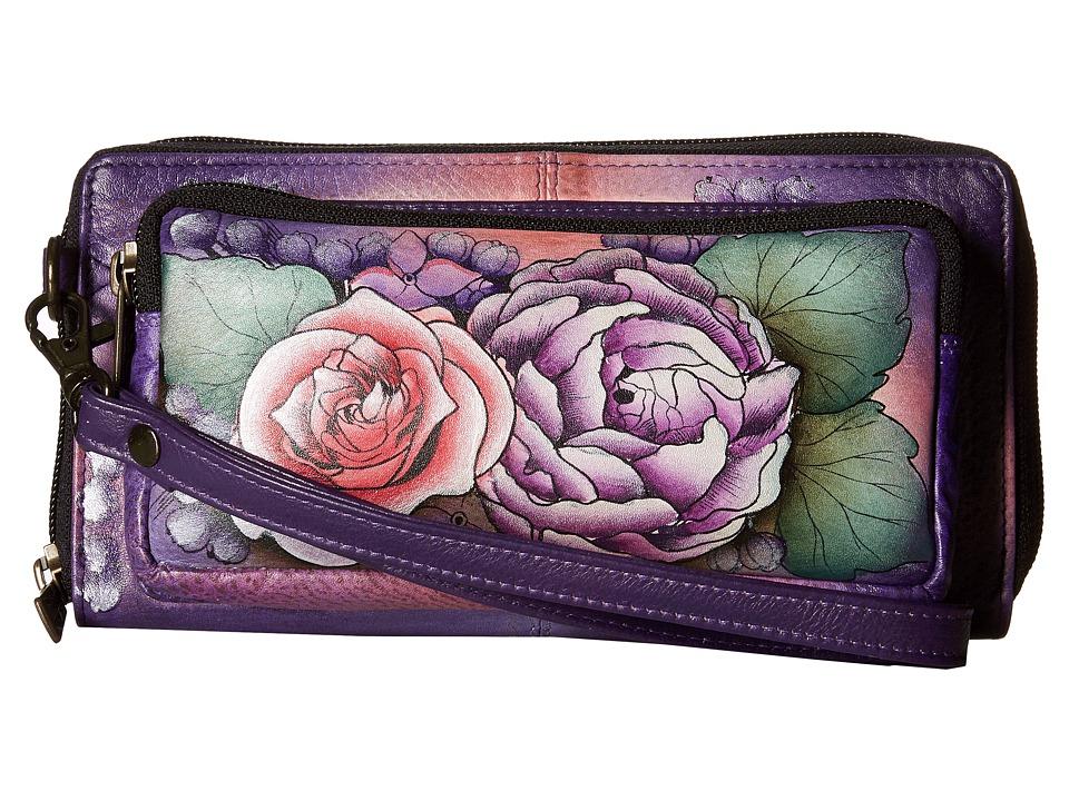 Anuschka Handbags - 1111 RFID Blocking Zip-Around Clutch ...