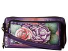 Anuschka Handbags 1111 RFID Blocking Zip-Around Clutch Wallet