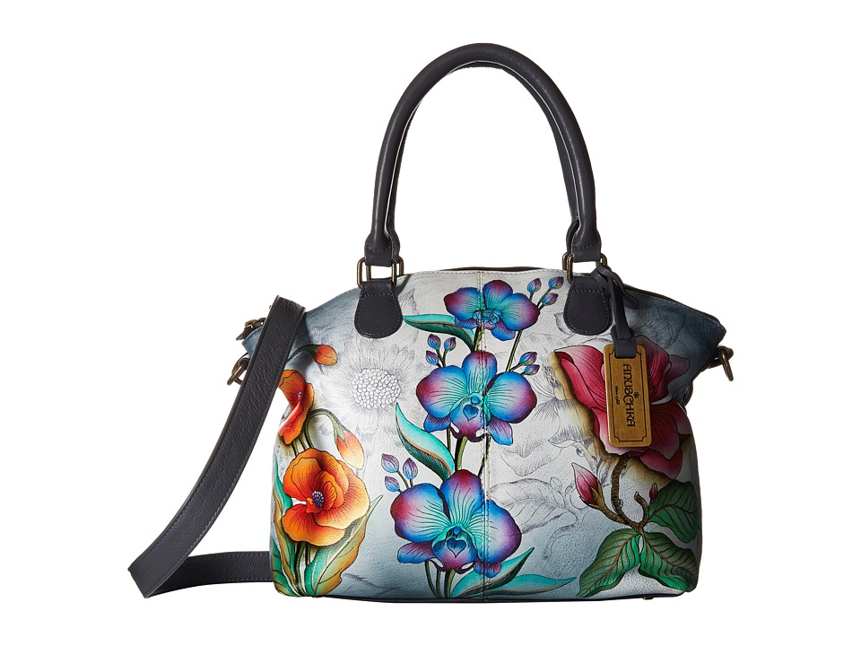 Anuschka Handbags - 484 (Floral Fantasy) Handbags