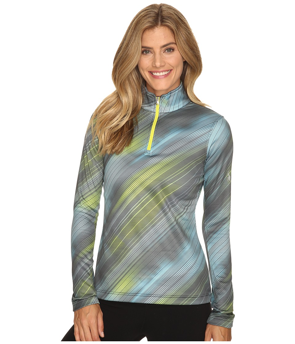 Spyder Collection T-Neck Top (Geo Rays Acid Print) Women