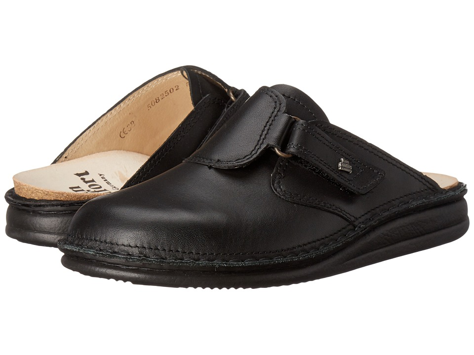 Finn Comfort Venice (Black) Shoes
