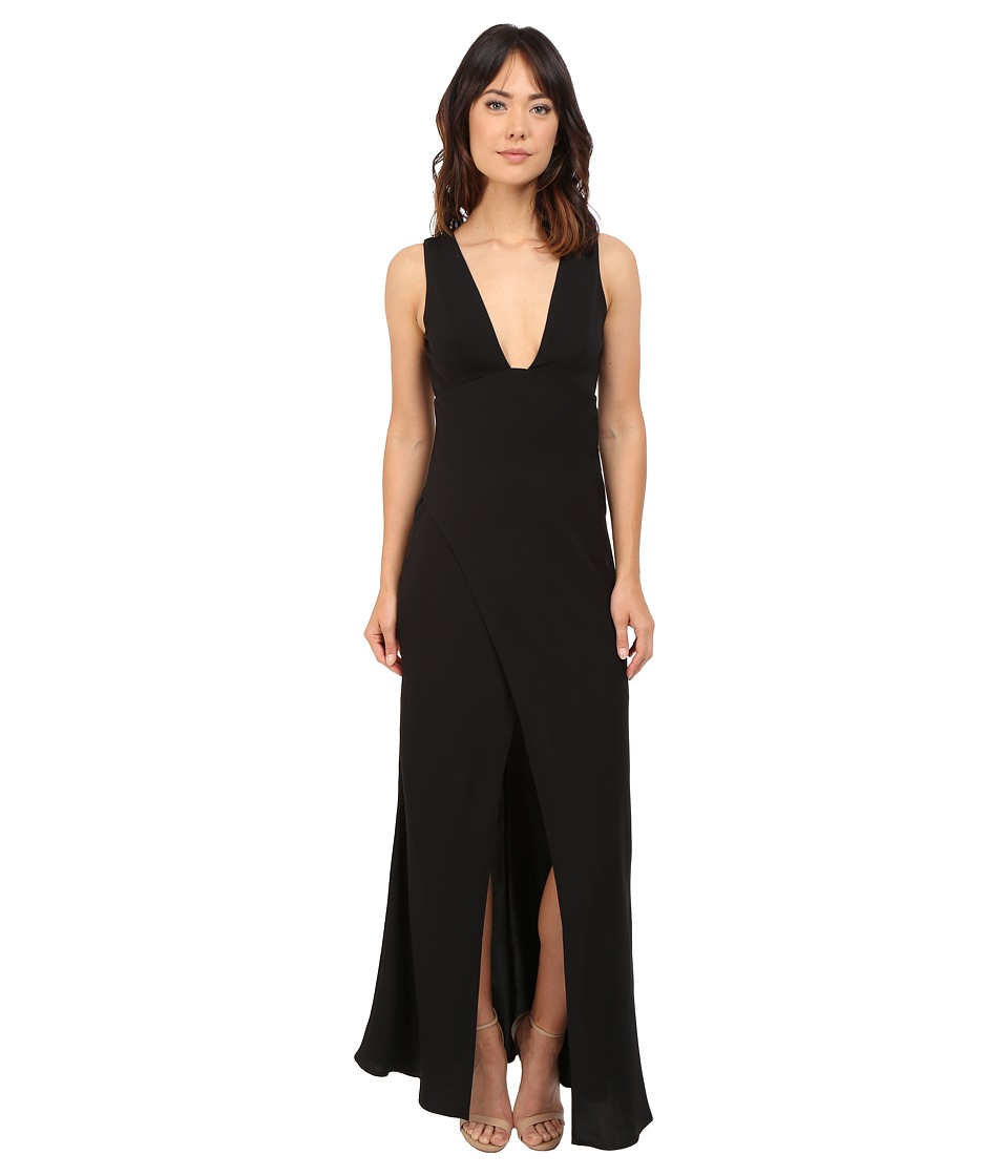 KEEPSAKE THE LABEL Enough Space Maxi Dress Black Womens Dress