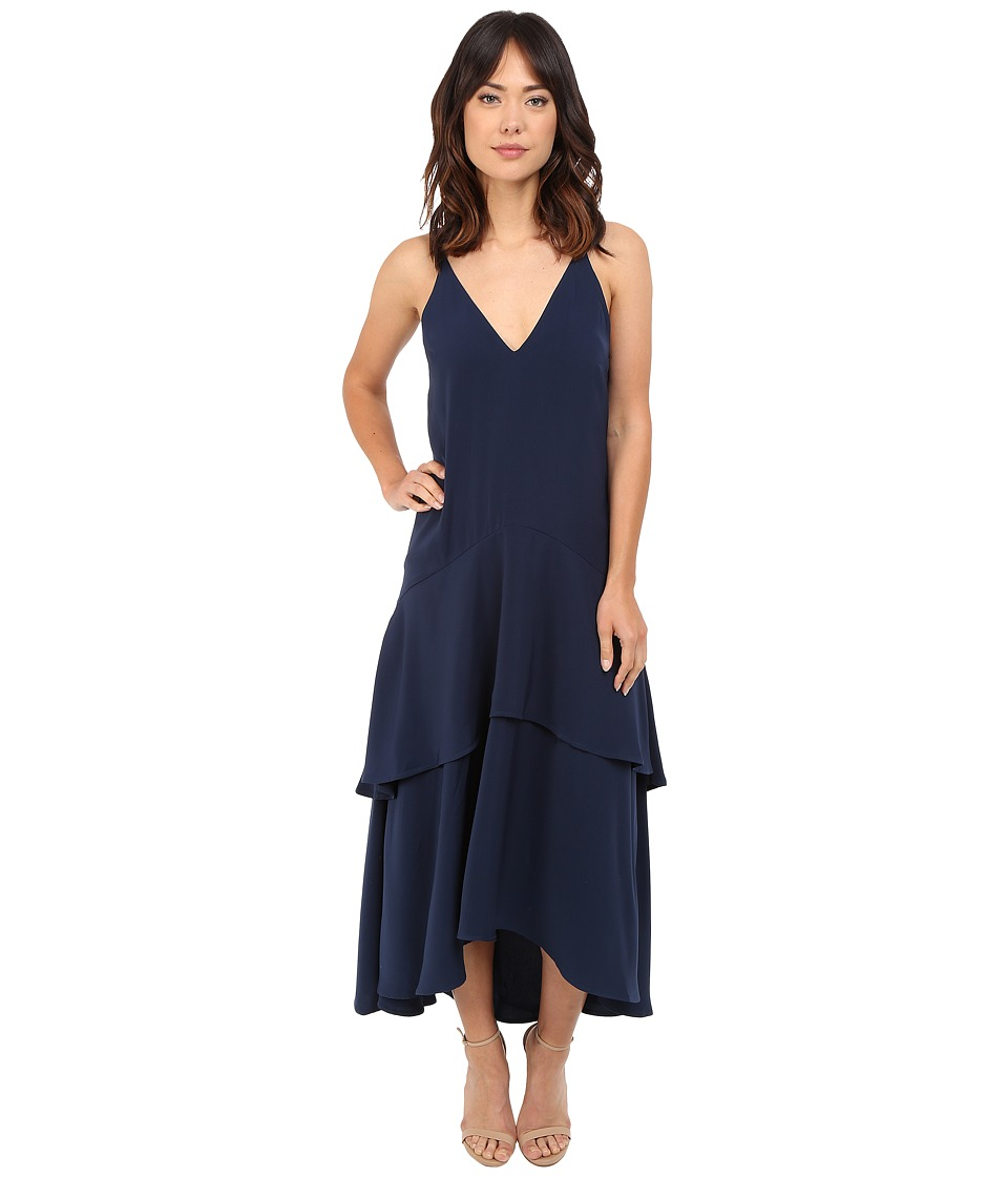 KEEPSAKE THE LABEL Mercy Maxi Dress Navy Womens Dress