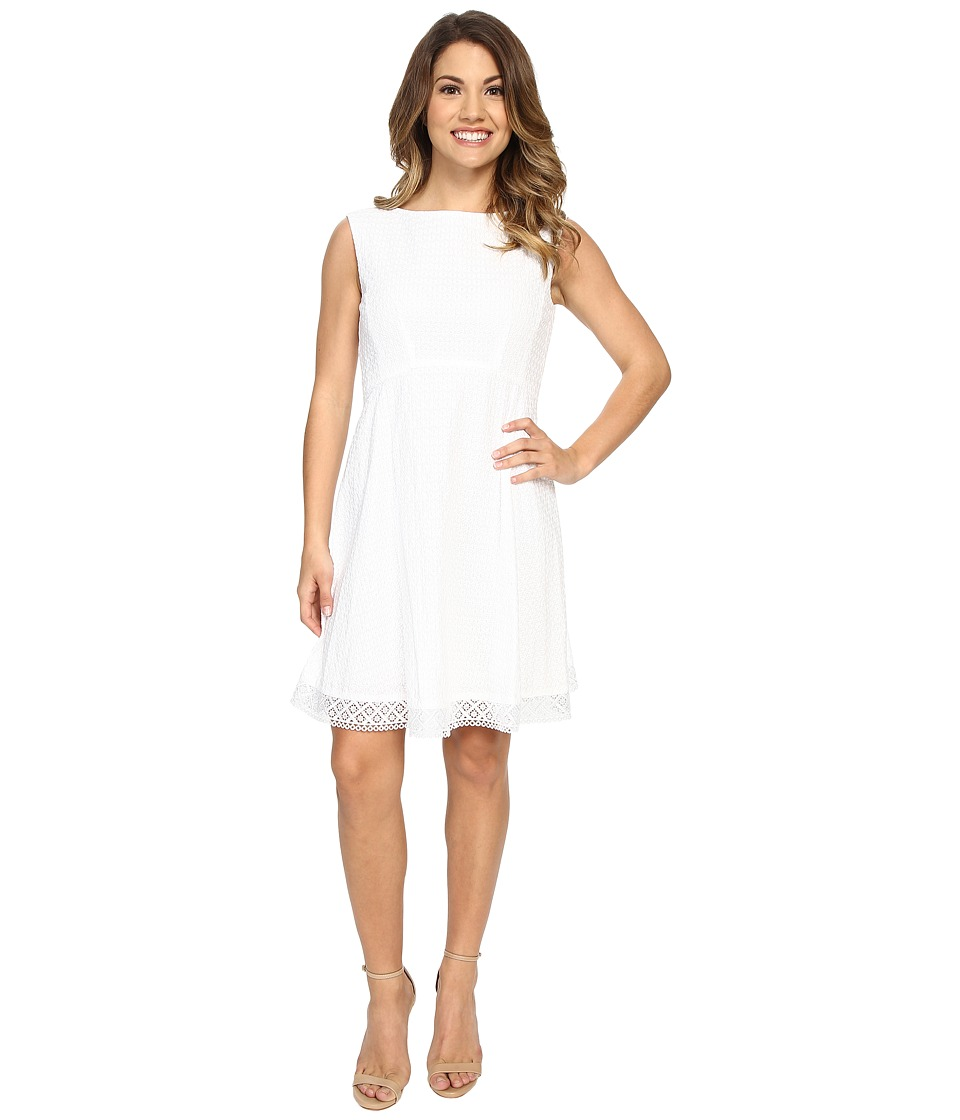 Tahari by ASL Petite Petite Wayne A Dress White Womens Dress