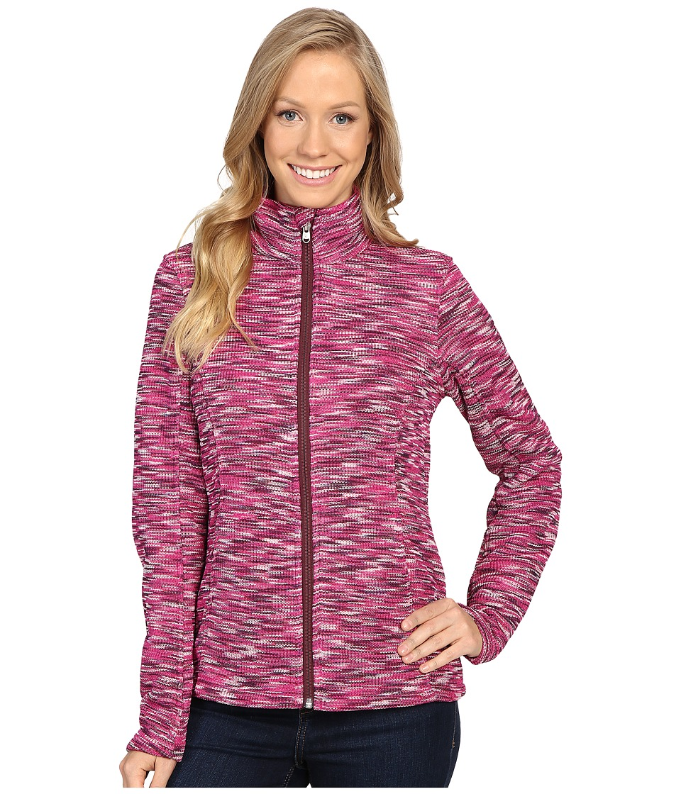 Spyder - Endure Space Dye Full Zip Mid Weight Core Sweater (Voila/Coy/Fini) Women