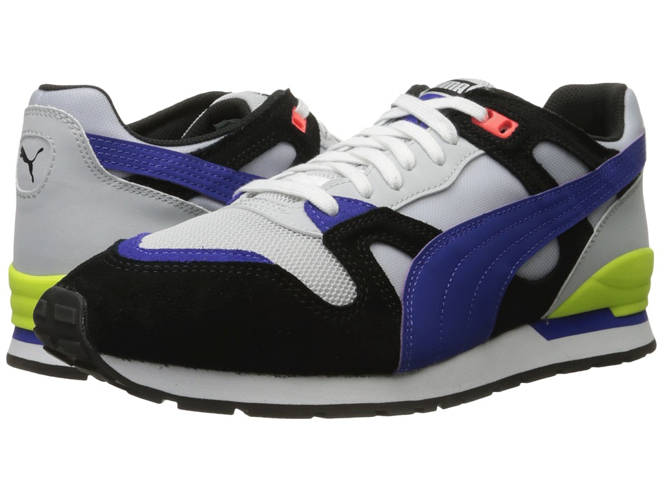 PUMA - Duplex (Glacier Gray/Puma Black/Royal Blue) Men