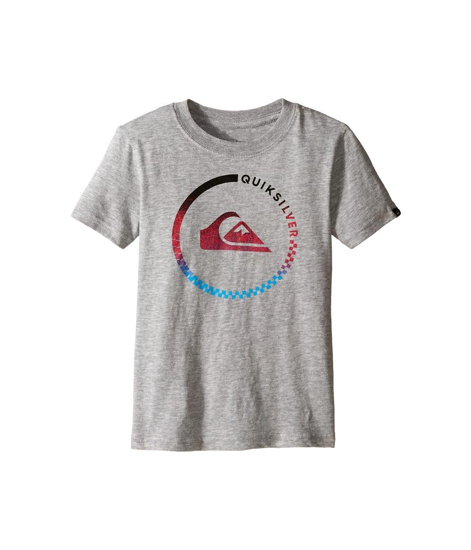 Quiksilver Kids Active Blend Screen Print Toddler Grey Heather Boys T Shirt