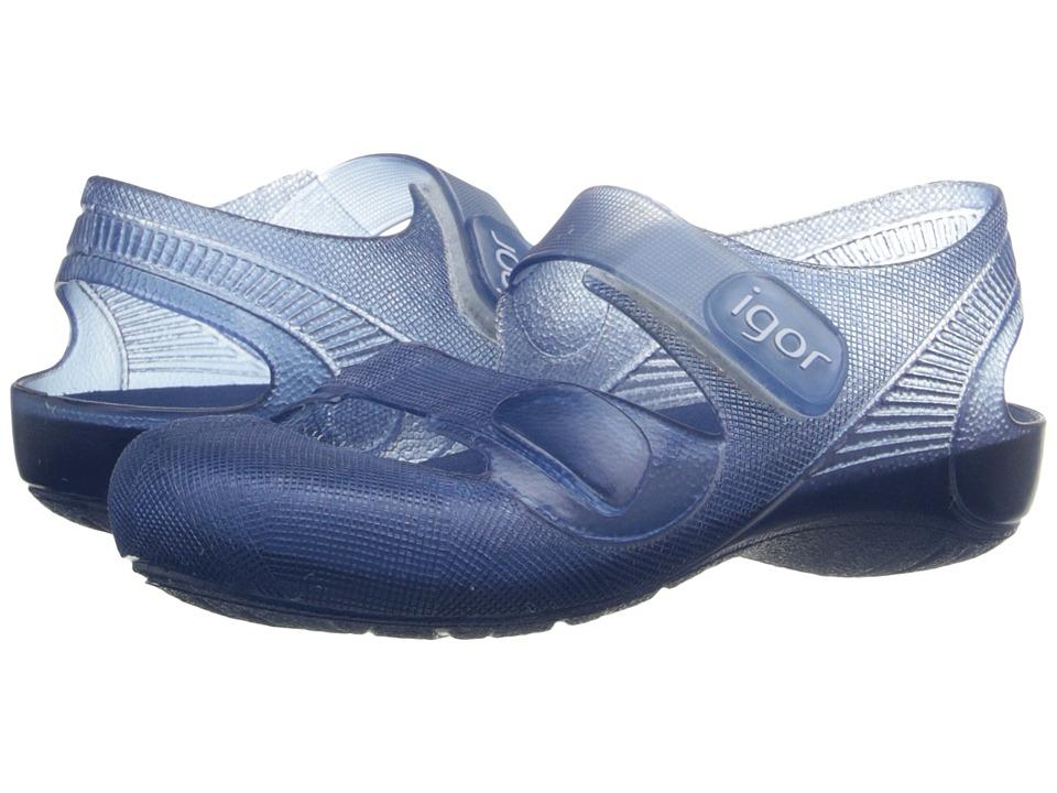 Igor Bondi (Infant/Toddler/Little Kid) (Blue) Kid's Shoes