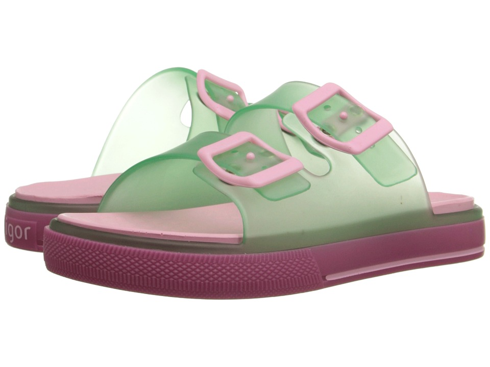 Igor Maui Toddler/Little Kid/Big Kid Transparent Green Kids Shoes