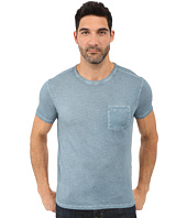 John Varvatos Star U.S.A. - Short Sleeve Knit Crew Neck w/ Chest Pocket K2615S1B