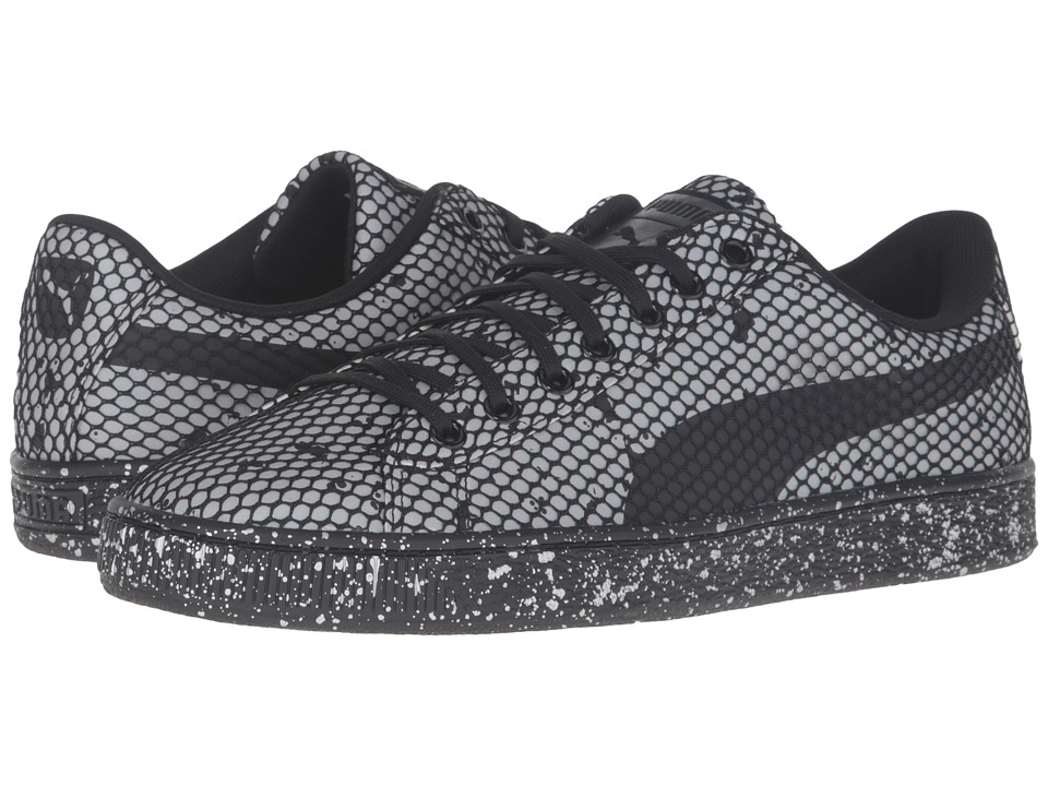 PUMA - Basket Classic Night Camo (PUMA Black) Men