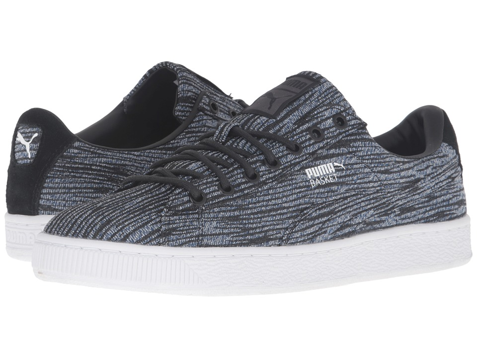 PUMA - Basket Classic Tiger Mesh (Puma Royal/Puma Black) Men