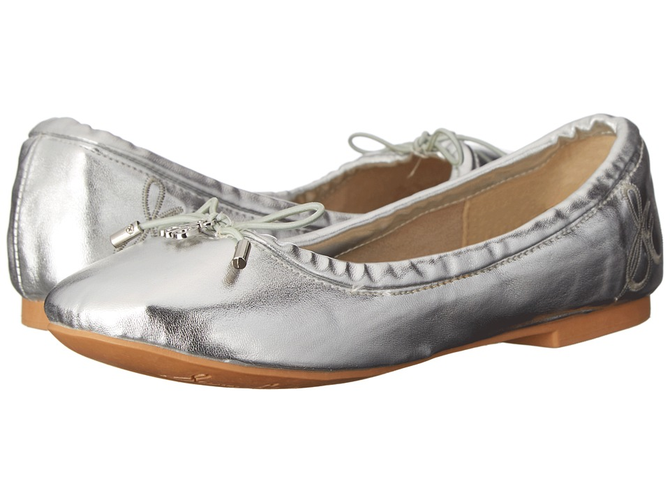 Sam Edelman Kids Felicia Ballet Little Kid/Big Kid Silver Metallic Girls Shoes