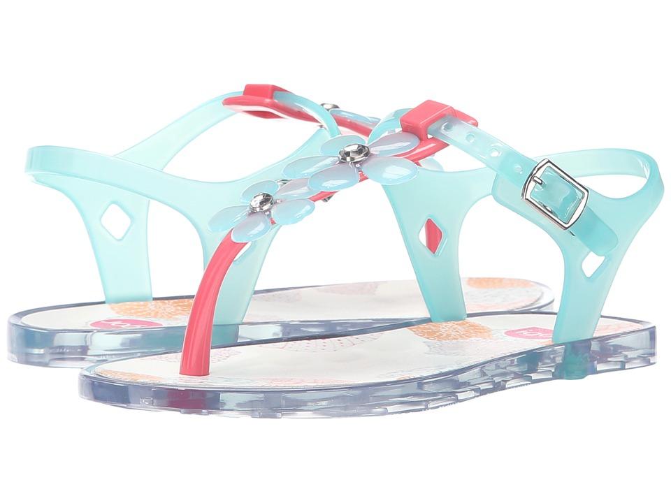 Igor Ursula Glam Toddler/Little Kid/Big Kid Coral/Crystal Aqua Girls Shoes