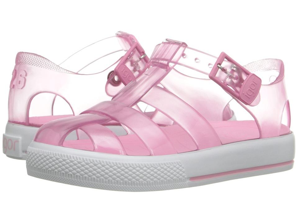 Igor Tenis (Toddler/Little Kid) (Crystal Light Pink) Girl's Shoes