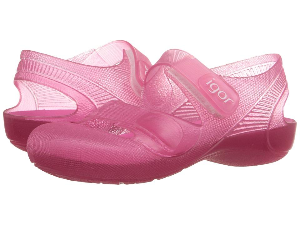 Igor Bondi (Infant/Toddler/Little Kid) (Fuchsia) Girl's Shoes