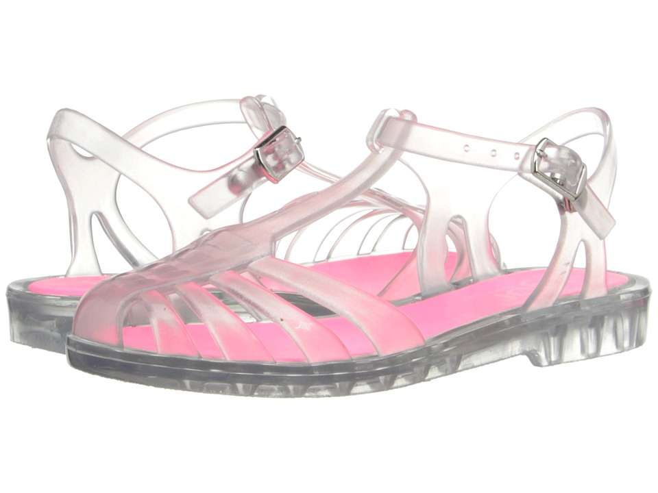 Igor Laida Mini Toddler/Little Kid/Big Kid Crystal Transparent Fuchsia Girls Shoes
