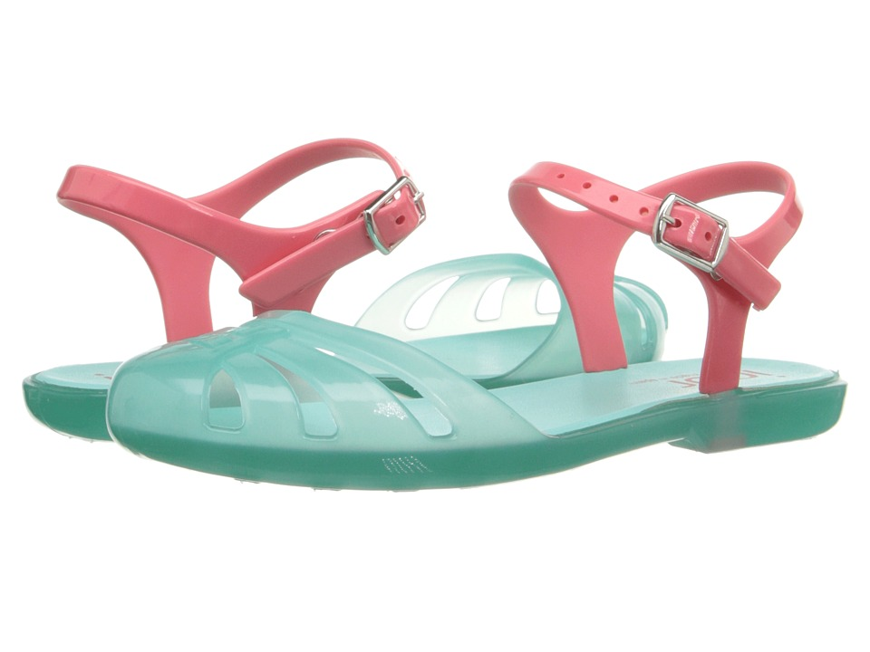 Igor Mara Mini Toddler/Little Kid/Big Kid Crystal Aqua Girls Shoes