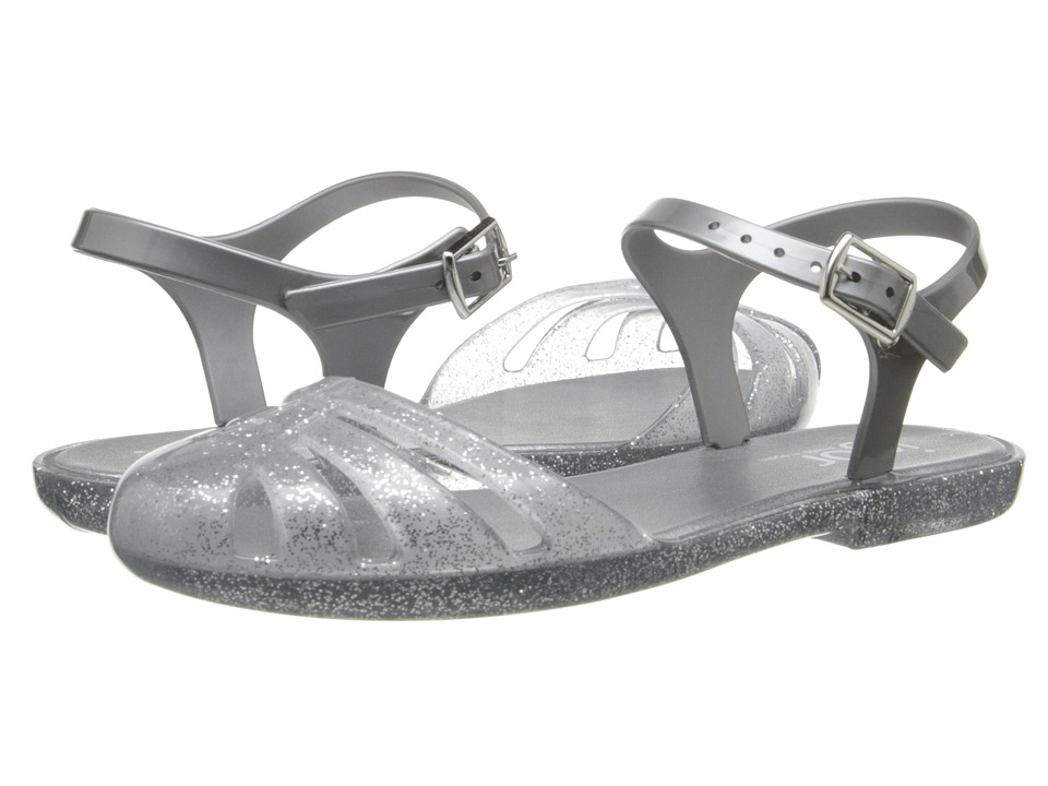 Igor Mara Mini Toddler/Little Kid/Big Kid Glitter Silver Girls Shoes