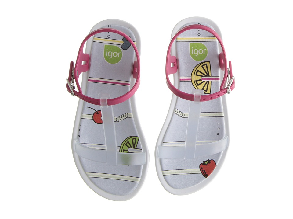 Igor Tricia Fresh Toddler/Little Kid/Big Kid Transparent/Transparent Girls Shoes