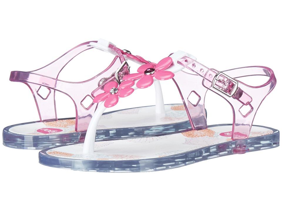Igor Ursula Glam Toddler/Little Kid/Big Kid Blanco/Crystal Pink Girls Shoes