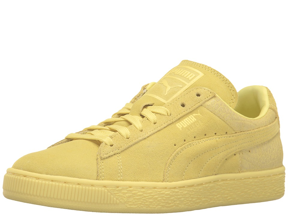 PUMA Suede Classic Emboss (Limelight) Women