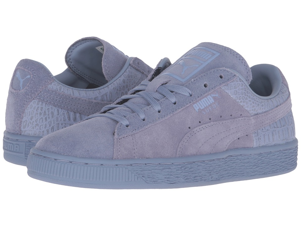 PUMA - Suede Classic Emboss (Tempest) Womens Basketball Shoes