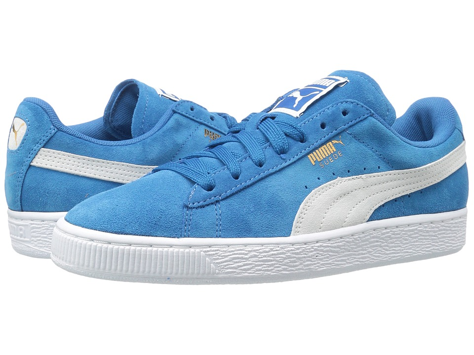 PUMA - Suede Classic (Puma Royal/Puma White) Womens Shoes