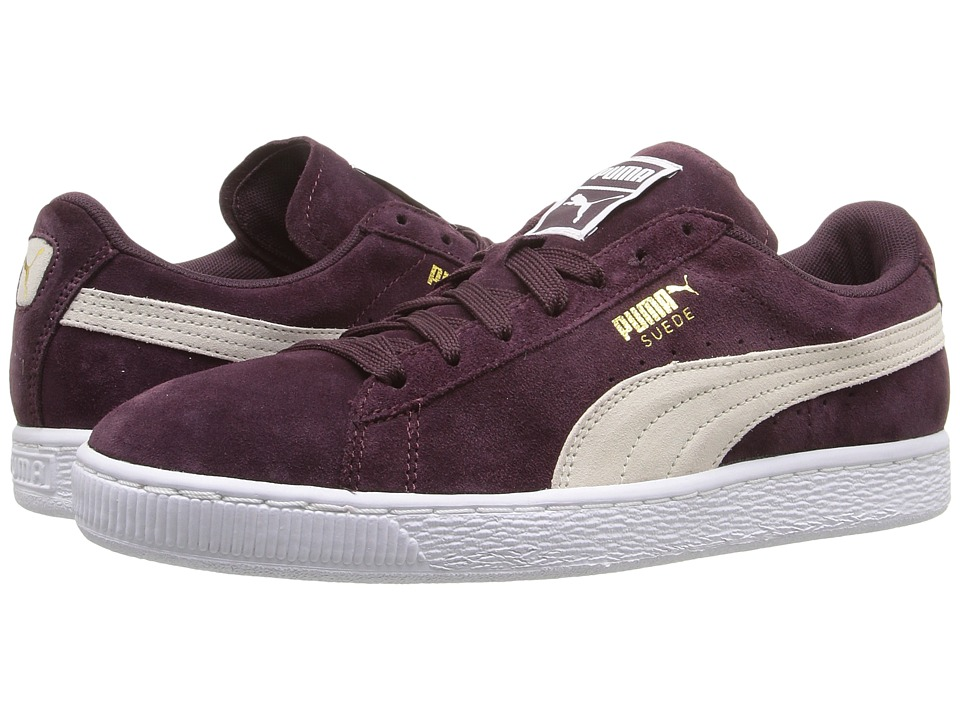 PUMA - Suede Classic (Winetasting/Puma White) Womens Shoes