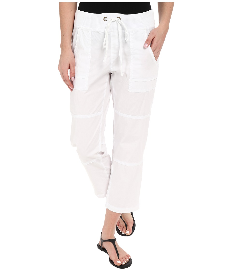 XCVI Caden Crop White Womens Clothing