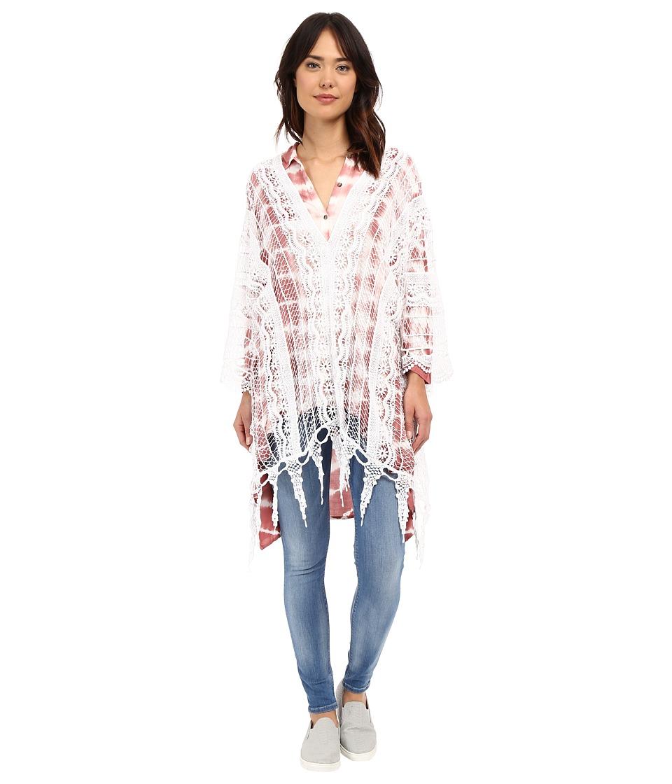 XCVI Angeleno Poncho White Womens Clothing