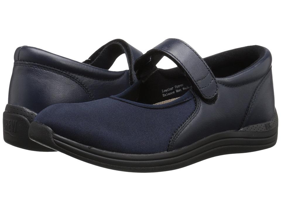 Drew Magnolia (Navy Nappa/Stretch) Women's Shoes