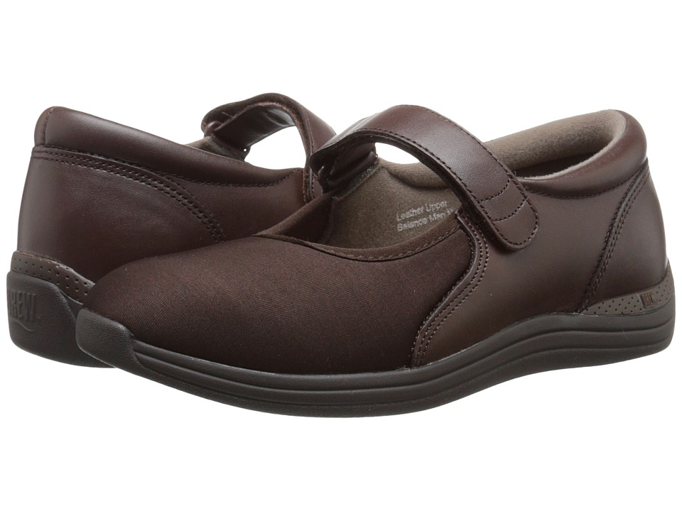 Drew Magnolia (Brown Nappa/Stretch) Women's Shoes