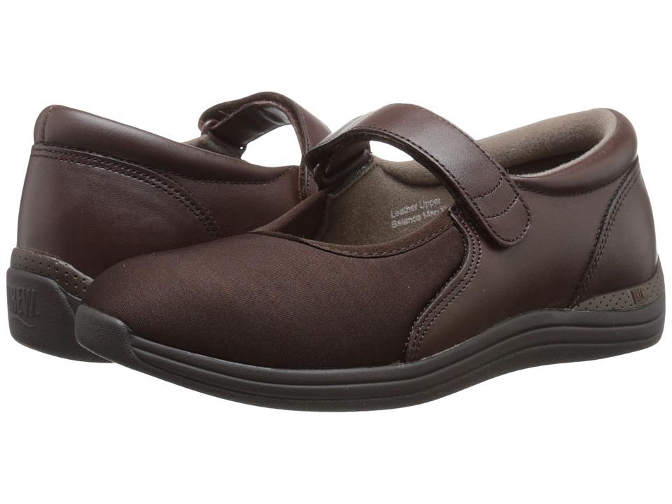 Drew Magnolia (Brown Nappa/Stretch) Women's Shoes