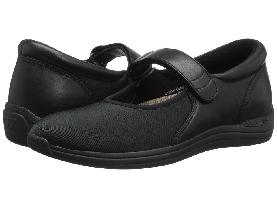 Drew Magnolia (Black Nappa/Stretch) Women's Shoes