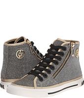 Armani Jeans - Lurex Effect with Giraffe Print Sneaker