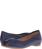 Armani Jeans - Saffiano Leather Ballet Flat