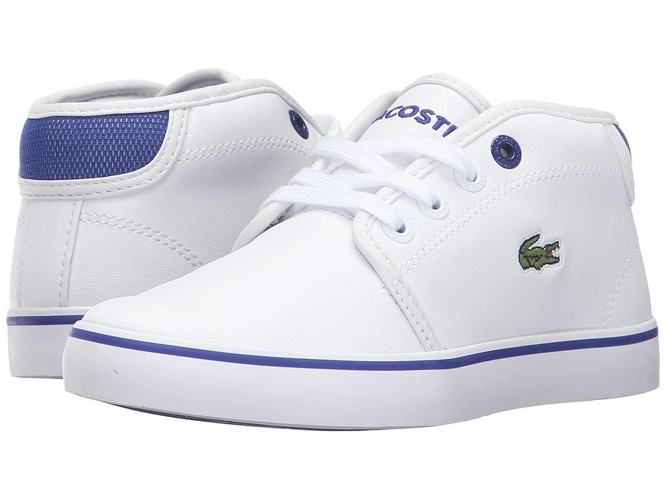 Lacoste Kids Ampthill 316 2 SPC (Little Kid) (White) Kid