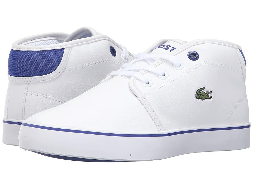 Lacoste Kids Ampthill 316 2 SPJ (Little Kid/Big Kid) (White) Kid