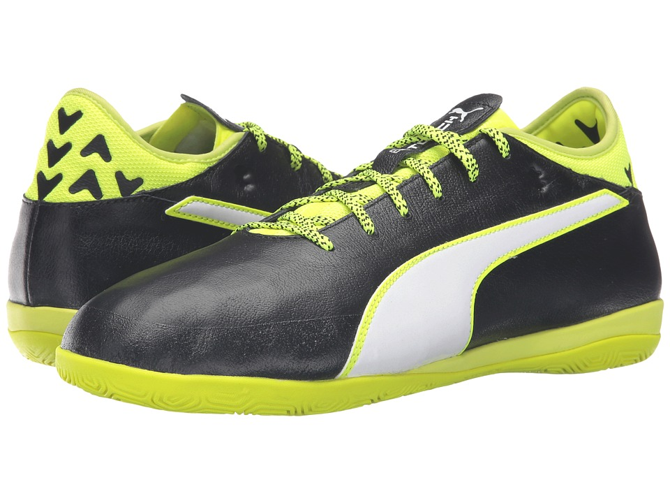 PUMA - evoTOUCH 2 IT (Black/White/Safety Yellow) Men