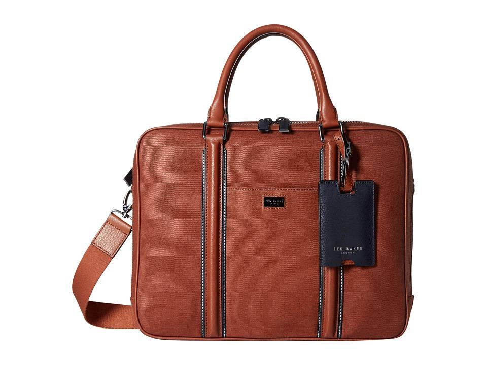 Ted Baker - Snowdor (Tan) Briefcase Bags