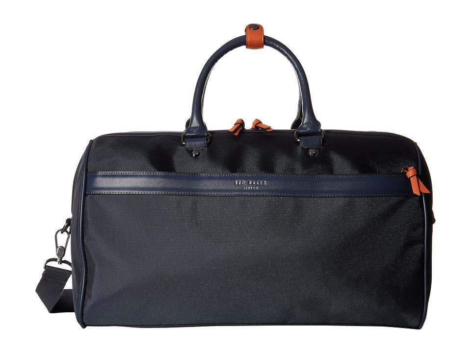 Ted Baker Grainz Navy Duffel Bags