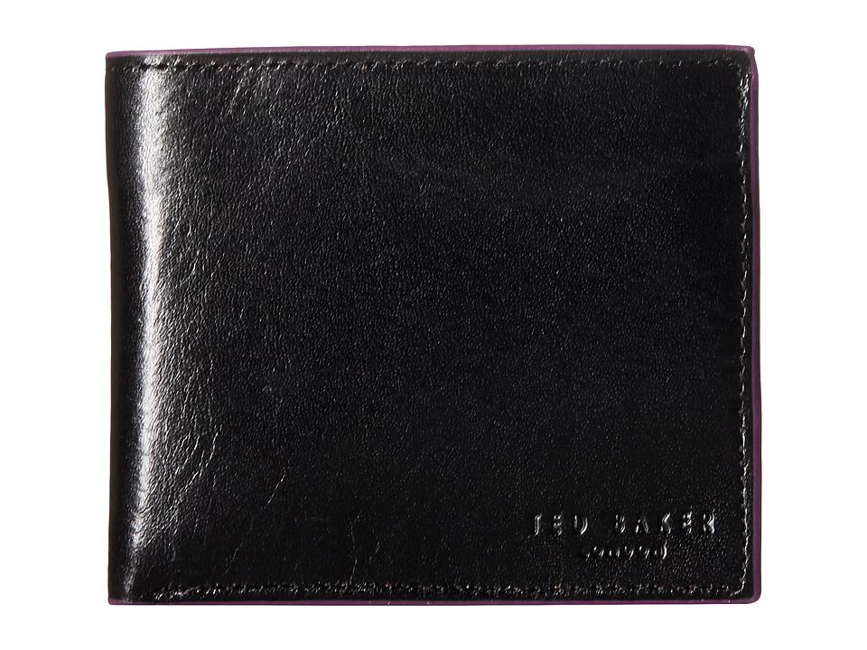Ted Baker Paintin Black Wallet Handbags